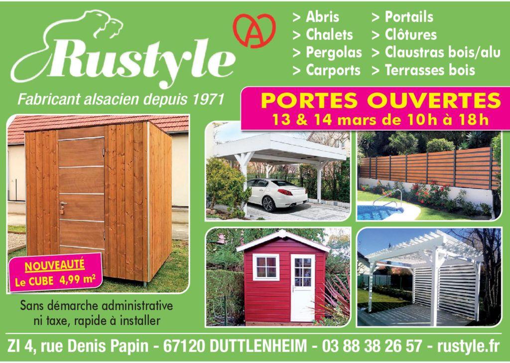 Portes ouvertes Rustyle mars 2021