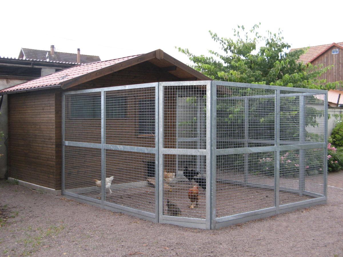 Abri pour animaux sur mesures Alsace