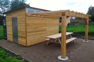 Abri jardin collectif partagé