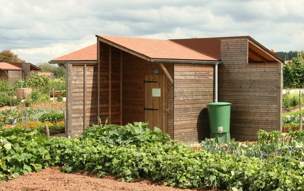 Abri de jardin collectif Alsace