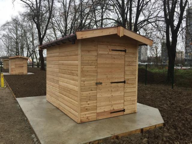Abris jardins familiaux Créteil