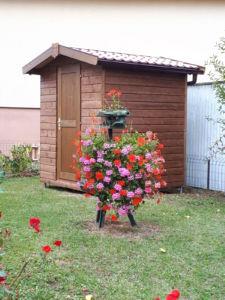abri de jardin en bois traité autoclave rustyle