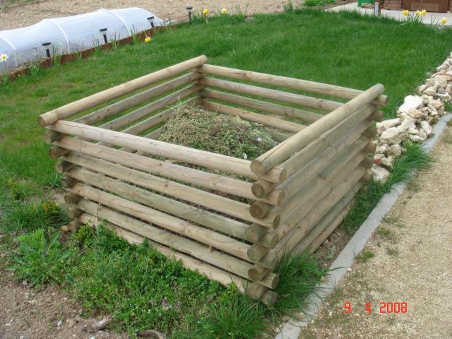 Bac à compost en bois