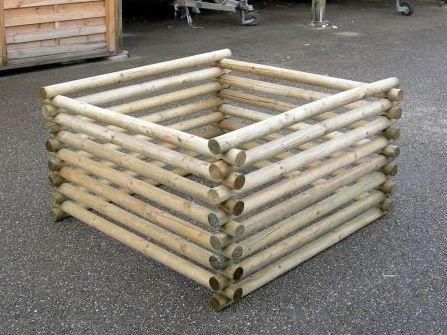 Bac compost bois Alsace