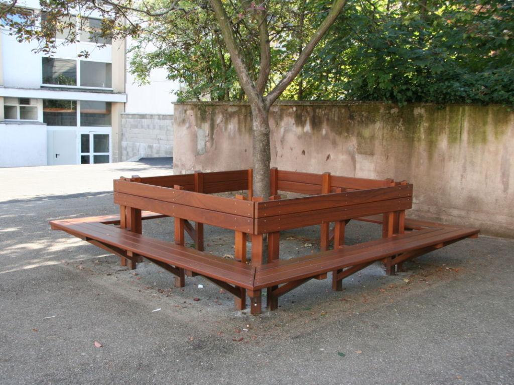 Banc tour d'arbre sur mesures Alsace