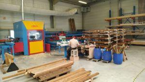 centre d'usinage speedcut hundegger atelier rustyle alsace