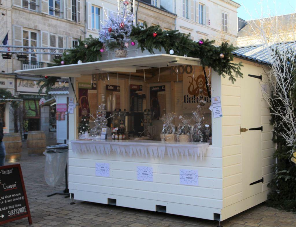 Chalet marché de Noël Orléans