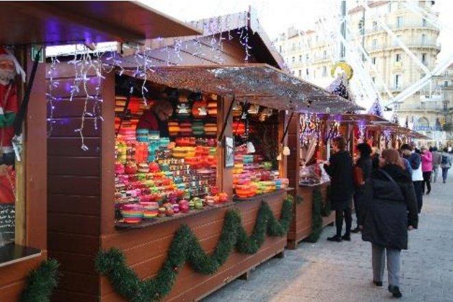 Vente location chalet marché de Noël Marseille