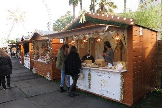 Vente location chalet marché de Noël Nice