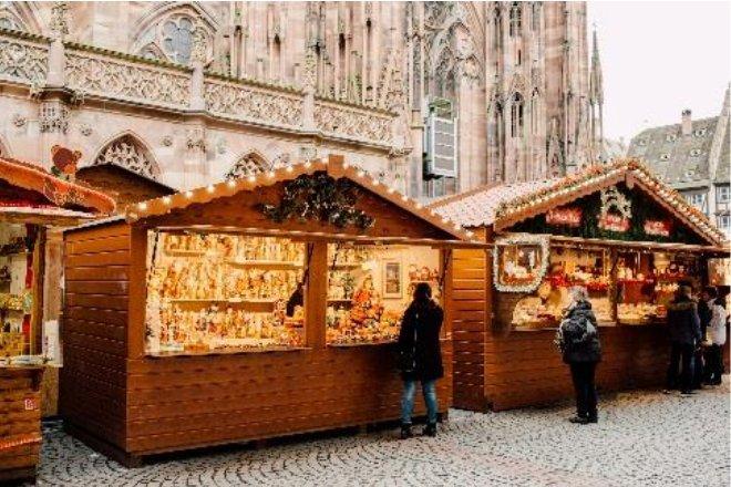 Vente location chalet marché de Noël Strasbourg