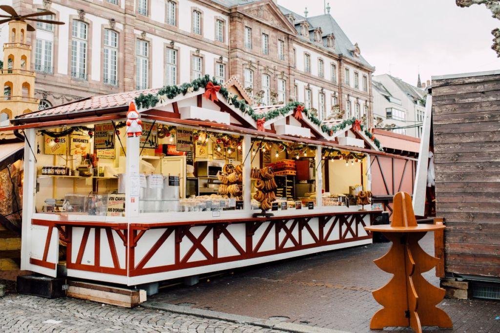 Chalet marché de Noël sur mesure