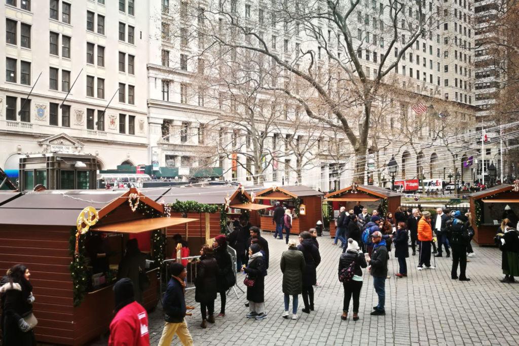 Chalet de Noël New York