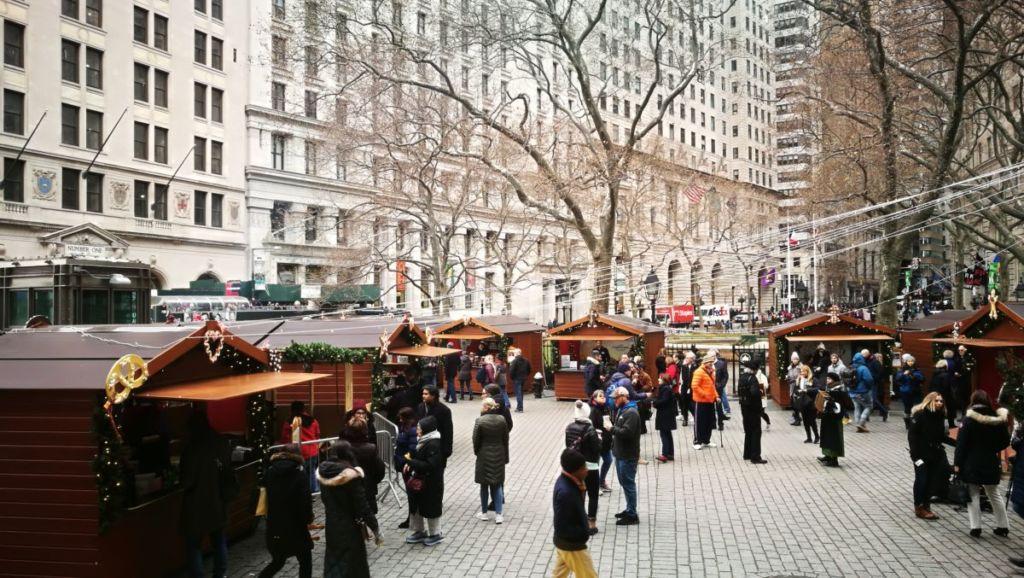 Fabricant alsacien Marché de Noël de New York