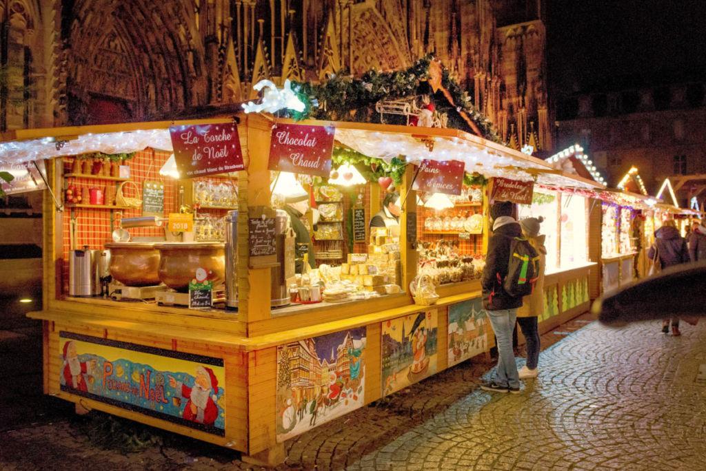 chalet de Noël strasbourg en vente ou en location