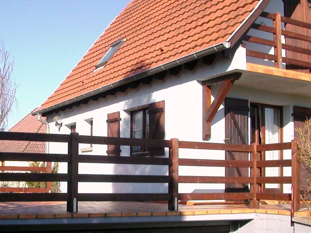Fabricant ois Alsace - Modèle Alpinportail b