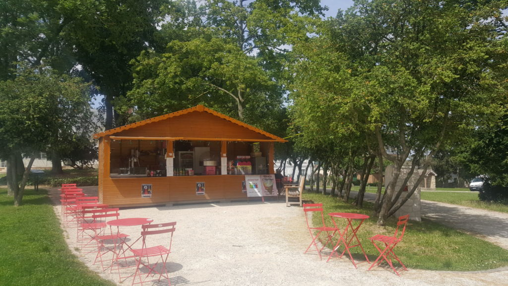 Location chalet Garden party mariage