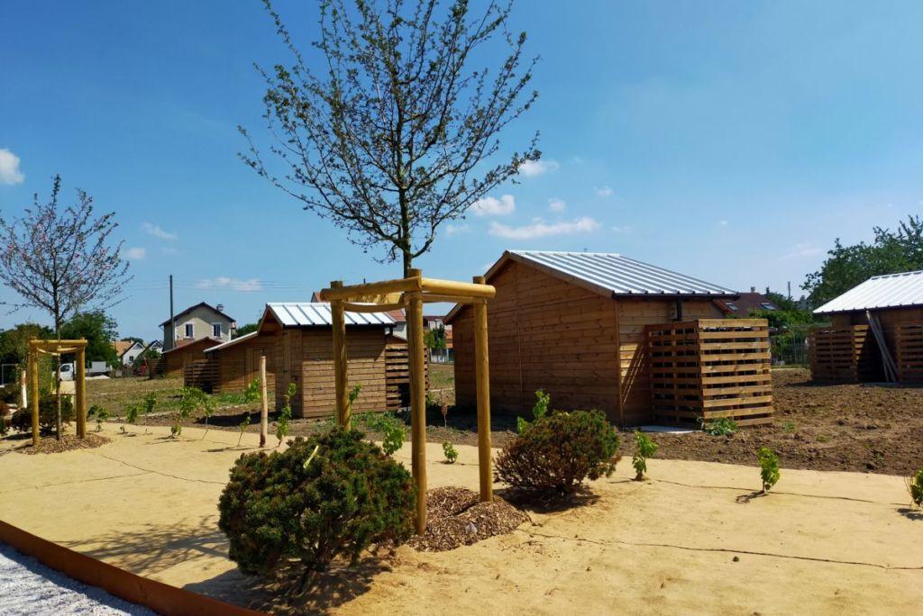abri bois pour jardins familiaux