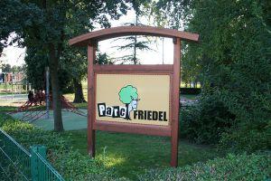 Panneau information en bois Alsace