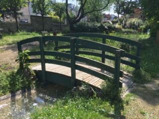Passerelle bois Alsace