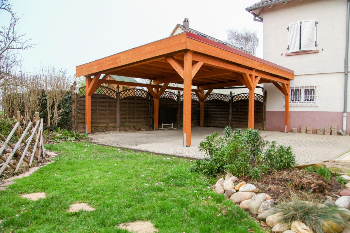 Pergola Carport Alsace