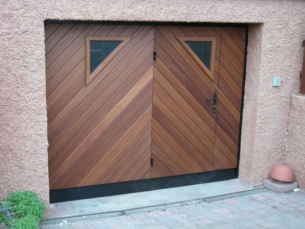 Fabricant portail bois sur mesures Alsace