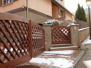 Fabricant portail clôture bois Alsace