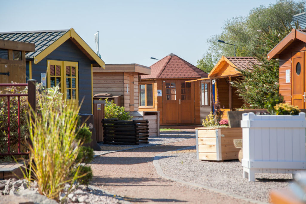 Rustyle parc expo chalets et abris de jardin en Alsace
