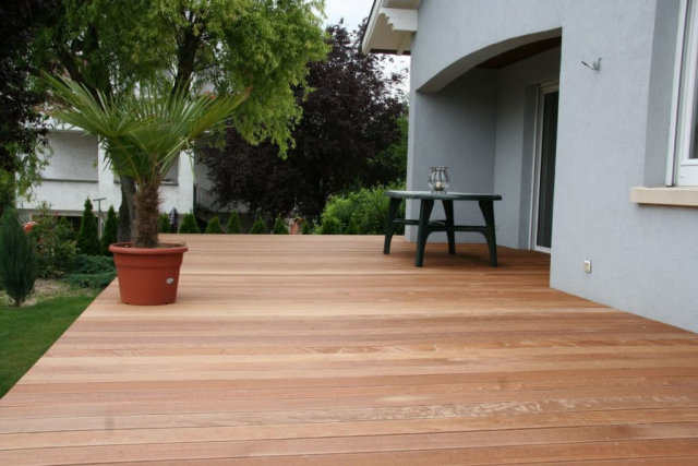 Fabrication et pose Terrasse bois Alsace