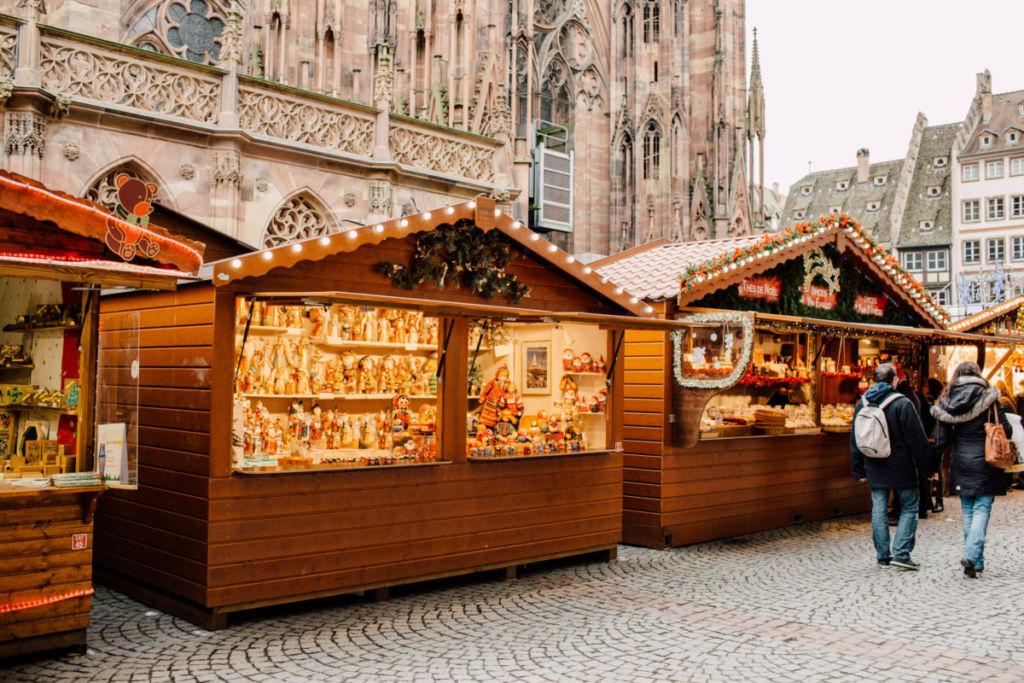 Vente location de chalet de Noël Alsace